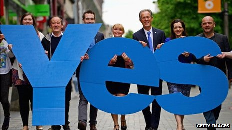 'Yes' Campaigners