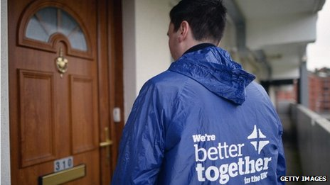 'Better Together' campaigners