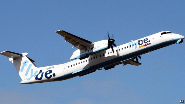 Flybe Dash 8 aircraft