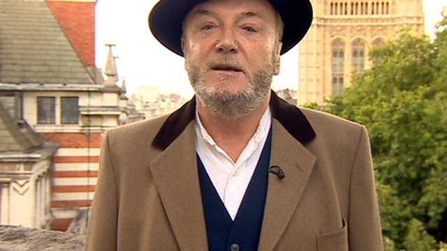 "George Galloway said comments his views are extreme were ""ridiculous""."