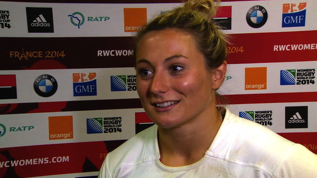 England's Victoria Fleetwood delights in victory