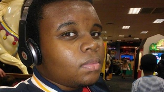 Michael Brown, the 18 year old who was shot dead in Ferguson, Missouri