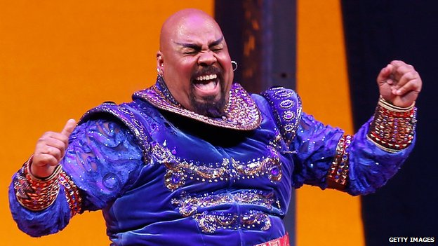 James Monroe Iglehart in Aladdin