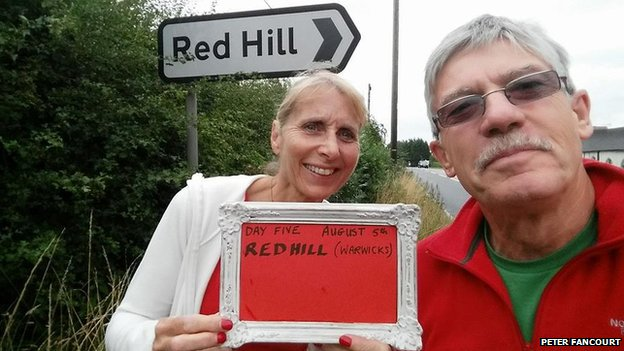 Red Hill in Warwickshire