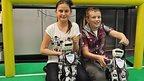 children holding robots