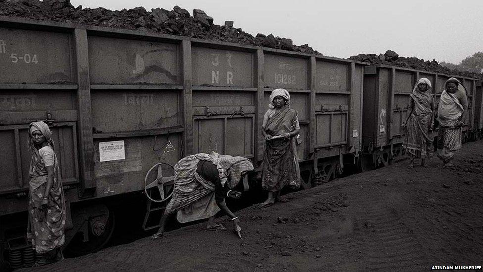 India coal miners