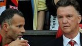 Ryan Giggs (left) and Manchester United manager Louis van Gaal