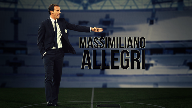 Juventus manager Massimiliano Allegri