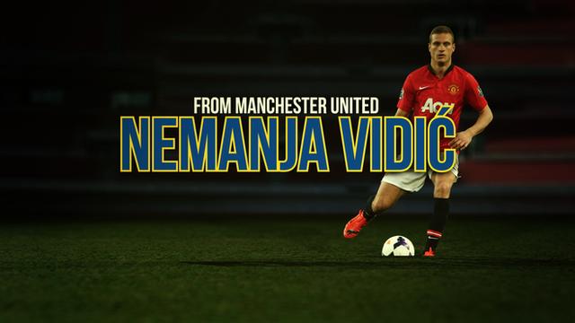 New Internazionale signing Nemanja Vidic