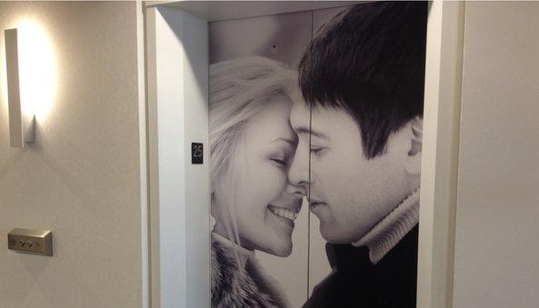 POF office elevator
