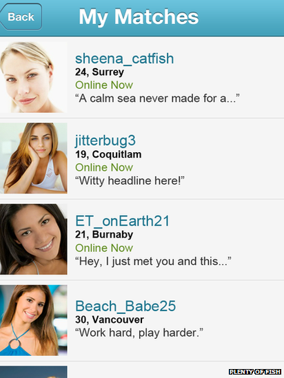 PlentyMoreFish Dating since there really are plenty more fish