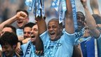 TV companies pay millions to have the rights to show teams like champions Man City play every week.