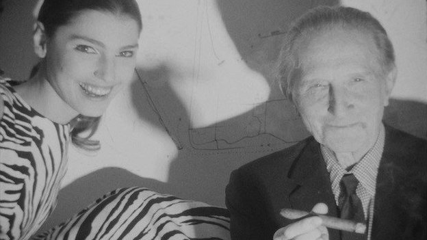 Screen Test: Marcel Duchamp and Benedetta Barzini [ST 81], 1966