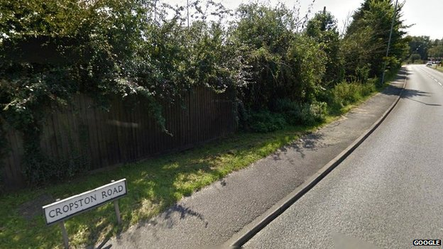 Cropston Road in Anstey, Leicester, Leicestershire
