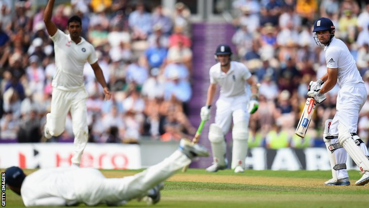 Alastair Cook is dropped