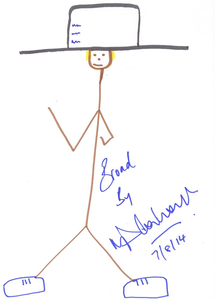 Stuart Broad by Michael Vaughan