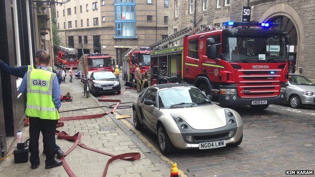 Blackfriars Street, Edinburgh Pic Kim Karam