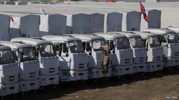 Russian aid convoy