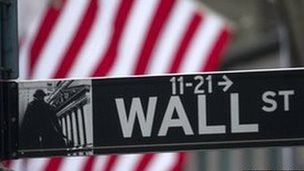 Street sign for Wall Street