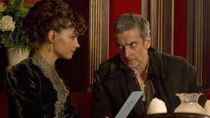 Jenna Coleman and Peter Capaldi in Deep Breath