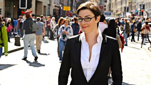Sue Perkins in Edinbugh