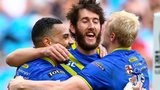Warrington Wolves celebrate