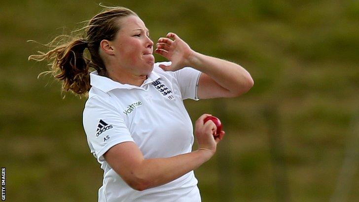 England women's Anya Shrubsole
