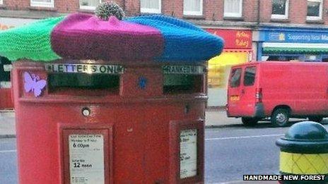 Postbox in New Milton