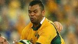 Kurtley Beale in action