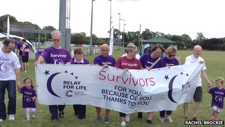 Relay For Life launch in Oxford