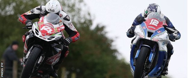 Dan Kneen's winning margin over Dean Harrison in the opening Superstock race at the Ulster Grand Prix was the closest finish in the meeting's history