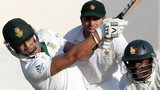South Africa's Alviro Petersen hits out against Zimbabwe