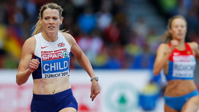 Eilidh Child wins 400m hurdles gold at the European Athletics Championships in Zurich