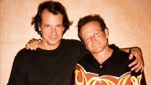 Steve Payne  and Robin Williams