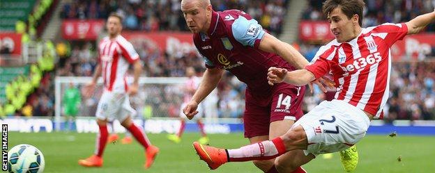 Stoke forward Bojan Krkic