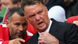 Louis van Gaal (right) and Ryan Giggs