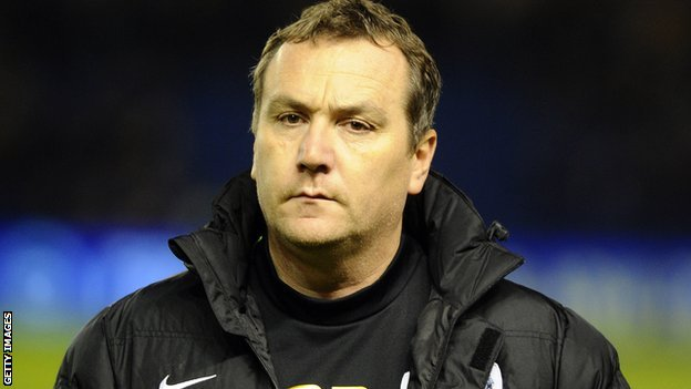 Shrewsbury Town boss Micky Mellon
