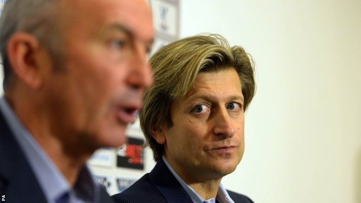 Steve Parish and Tony Pulis