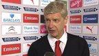Desire got us through - Arsene Wenger