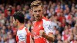 Arsenal midfielder Aarom Ramsey