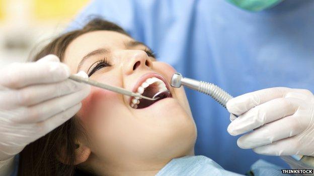 Dentist's patient