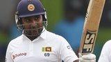 Sri Lanka batsman Mahela Jayawardene in action against Pakistan