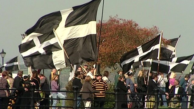 Cornish flags