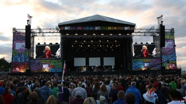 Blondie at V Festival 2014 at Hylands Park in Chelmsford
