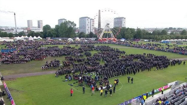 This year's competition featured 300 performances and drew 30,000 people