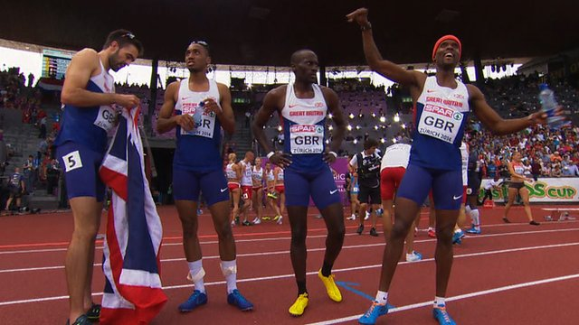 European Championships: Martin Rooney leads 400m relay team to gold