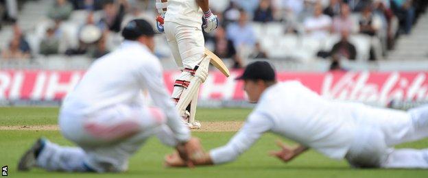 England's Gary Ballance