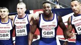 GB Men's 4x100m relay team