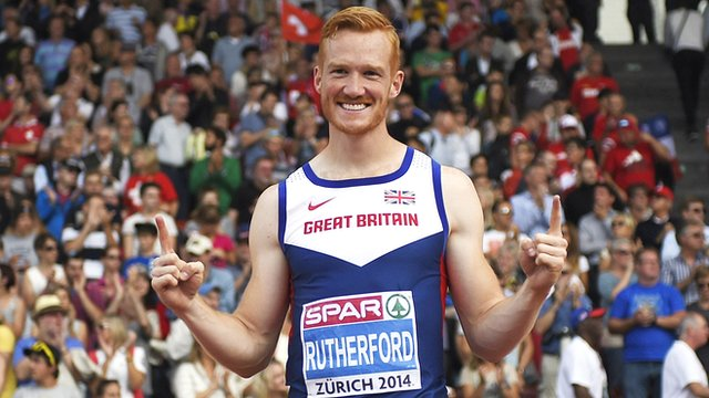 Greg Rutherford wins long jump gold