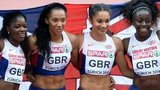 GB's women's 4x100m relay team